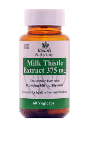 Milk Thistle Extract 375mg